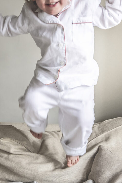 Linen Kids Pyjama Set