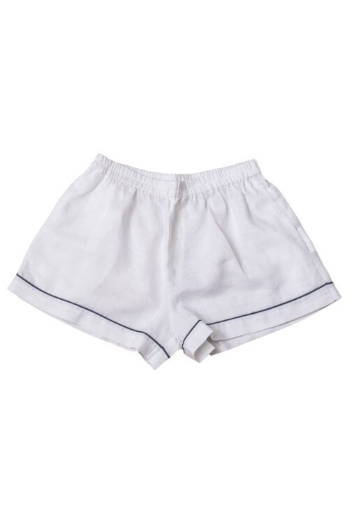 Linen Pyjama Short