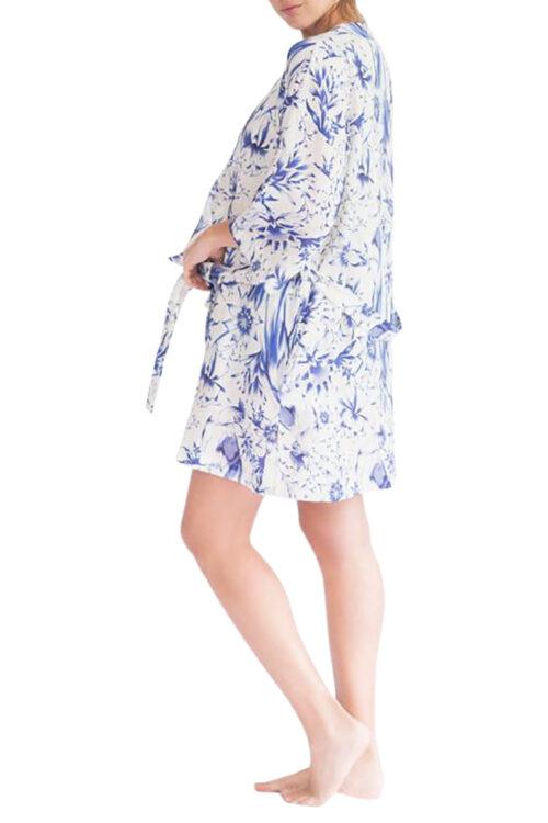 Lola Tropical Paradise Blue Robe