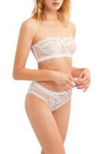 Petunia Bikini Brief - Ivory, S