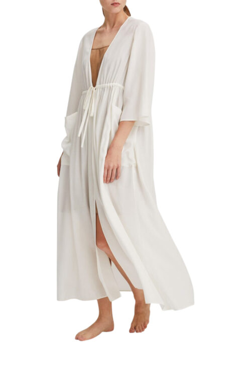 Classic Kimono Drawstring Robe