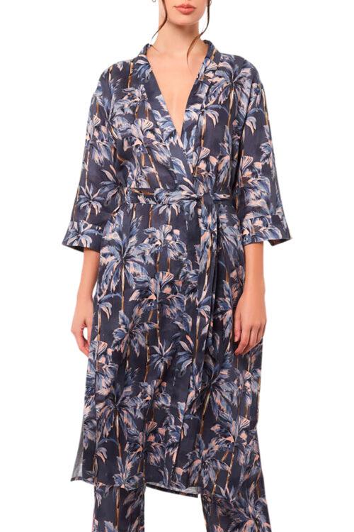 Sophie Winter Palms Robe