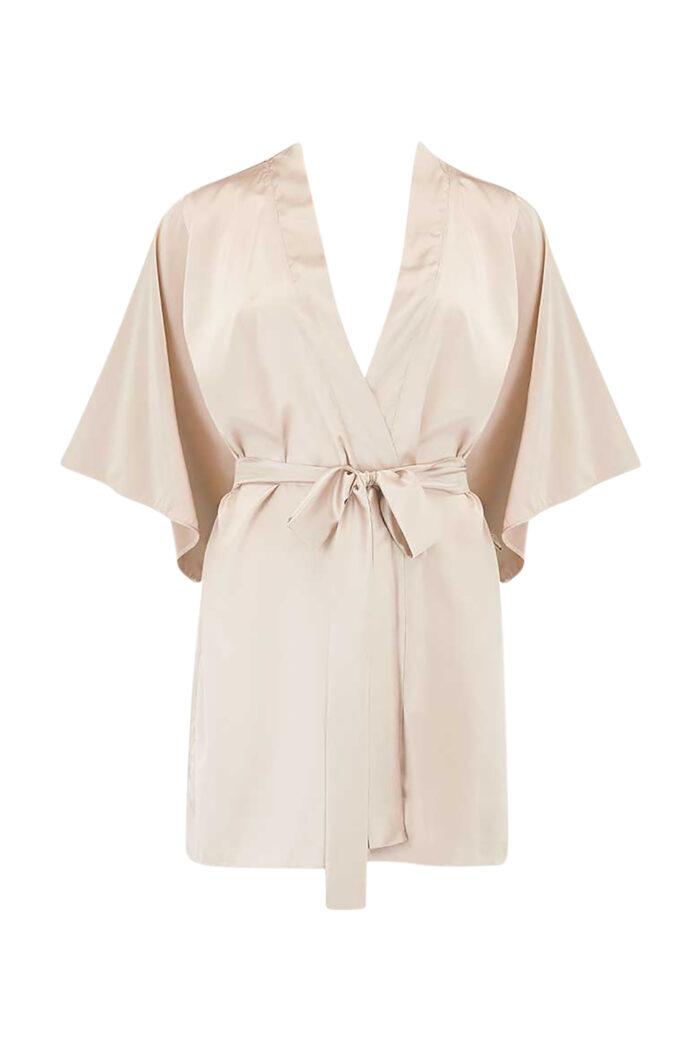 Dahlia Silk Robe