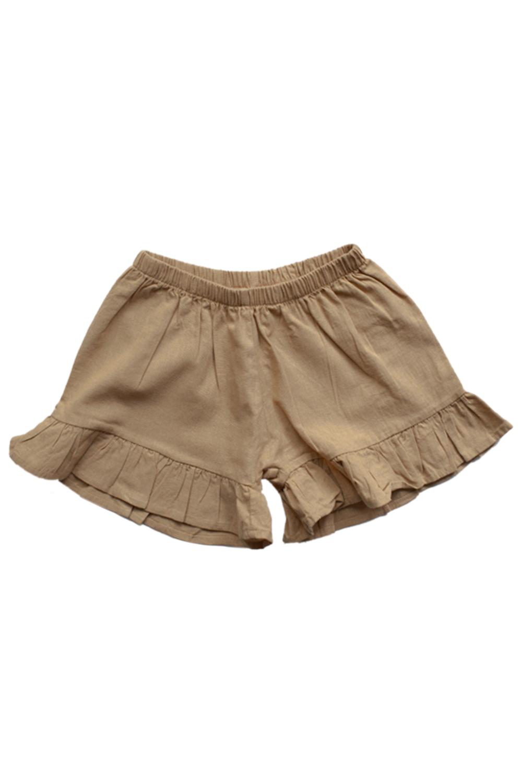 The Frill Linen Short