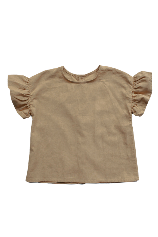 The Frill Linen Top