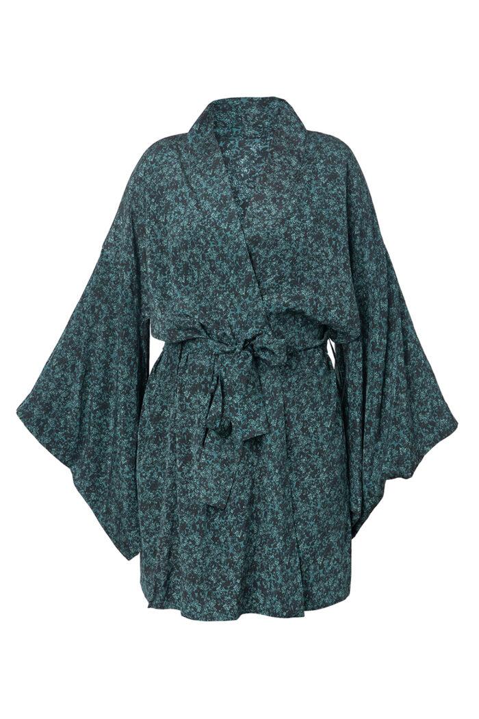 Botanist Kimono Midi Robe