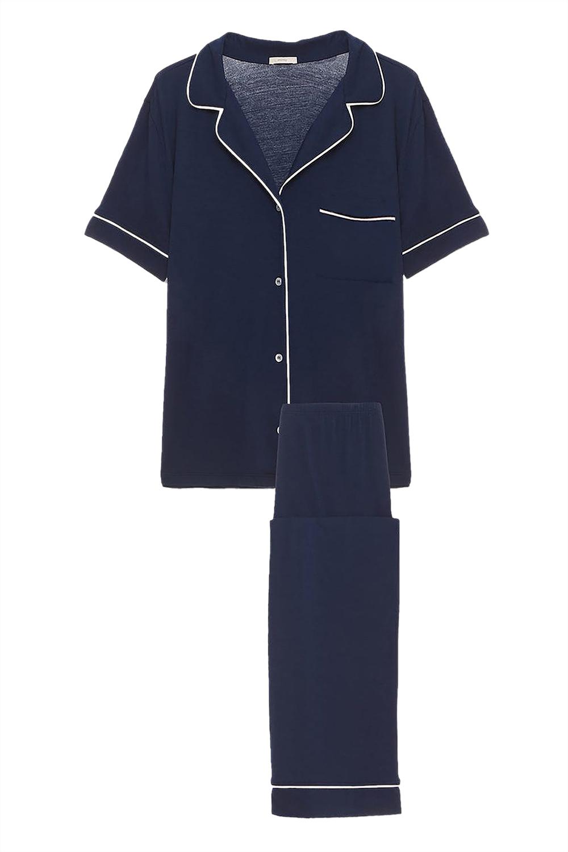 Gisele Short Sleeve and Pant PJ Set