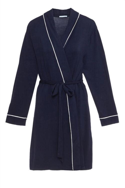 Gisele Tuxedo Robe