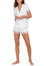 Malou Lace Short PJ Set