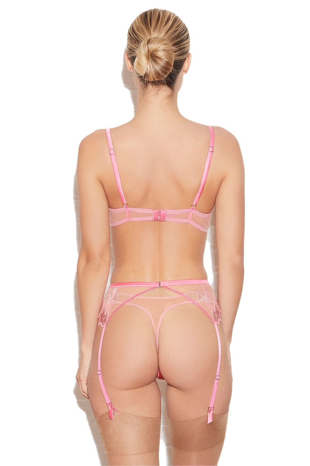 Superstar Embroidery Thong